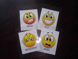 emoties 4 x B